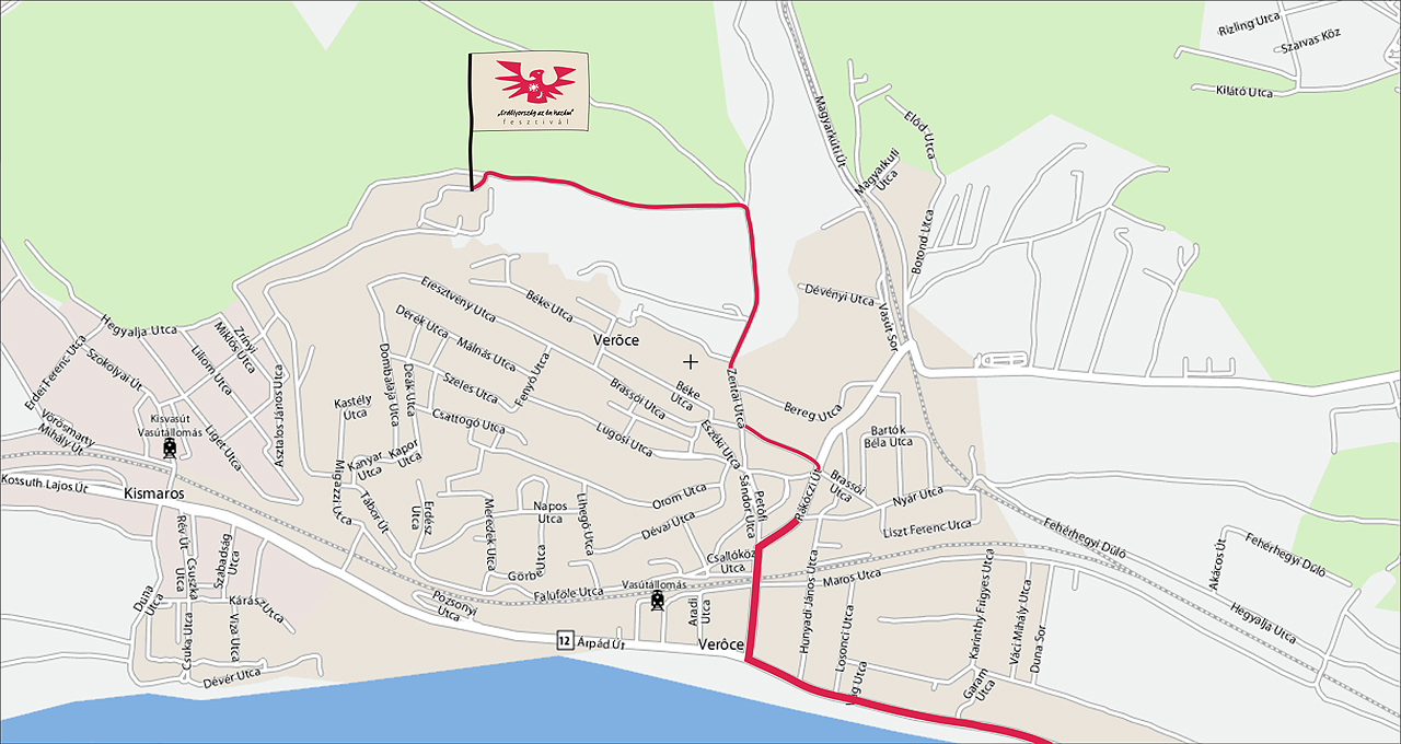 verőce térkép Erdélyország az én hazám fesztivál, világtalálkozó   2010. július  verőce térkép